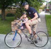 Сиденье для детей на велосипед