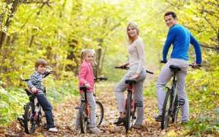 Размер велосипеда по росту таблица для детей