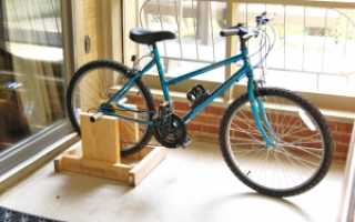 Как сделать велотренажер из велосипеда
