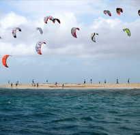 Серфинг с парашютом