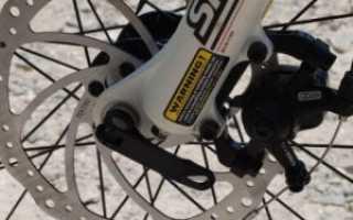 Механические дисковые тормоза на велосипед