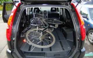 Как перевезти велосипед в машине