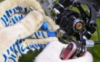 Регулировка тормозов велосипеда
