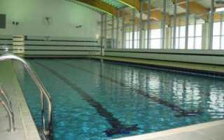 Температура воды в спортивном бассейне