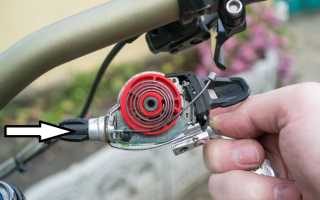 Замена переднего переключателя скоростей на велосипеде