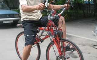 Переднеприводный велосипед