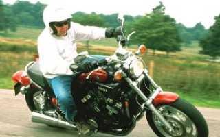 Повороты на мотоцикле