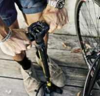 Как накачать велосипед
