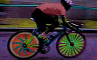 Светодиоды на велосипед