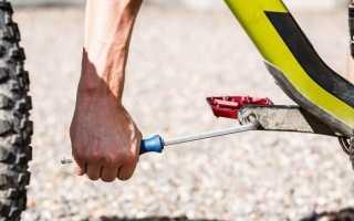 Как снять педали со скоростного велосипеда