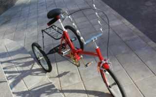 Как сделать своими руками трехколесный велосипед