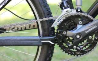 Проскальзывает цепь на велосипеде при нагрузке