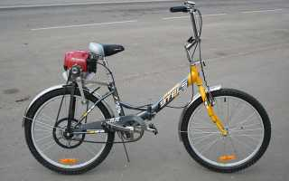Велосипеды с мотором на бензине