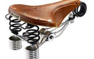 Как правильно отрегулировать сиденье велосипеда