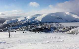 Большой вудъявр горнолыжный курорт