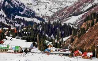 Алматы горнолыжный курорт