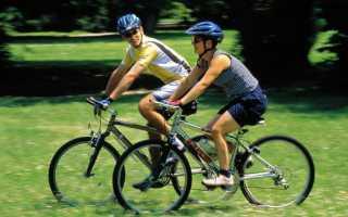 Какие мышцы тренируются при езде на велосипеде
