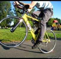 Вилли на велосипеде