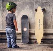 Скейтборд и пенни борд различия