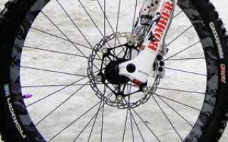 Как снять переднее колесо с велосипеда