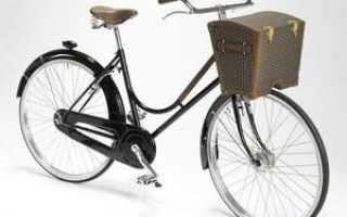 Установка багажника на велосипед