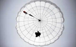 Изобрел ранцевый парашют