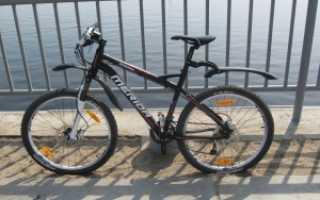 Как поставить переднее крыло на велосипед