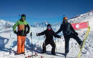 Тетнульди горнолыжный курорт