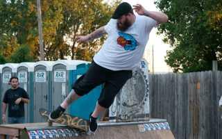 Научиться кататься на скейтборде
