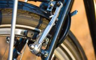 Скрипят тормоза на велосипеде