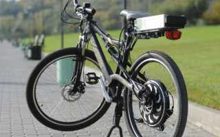 Электропривод для велосипеда