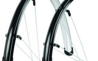 Как крепить крылья на велосипед