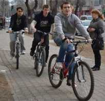 Можно ли велосипедисту ехать по тротуару