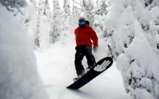Стили катания на сноуборде