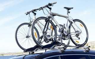 Велобагажник на авто