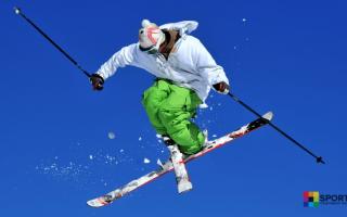 Горные лыжи фристайл