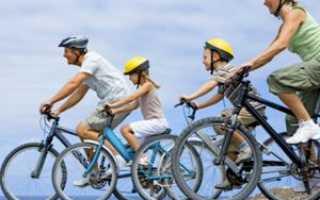 Велотренировки на шоссейном велосипеде