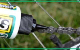 Велосмазка для цепи