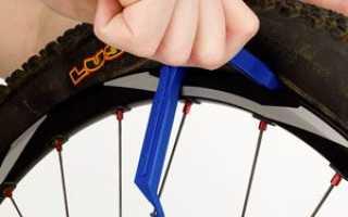 Замена покрышки на велосипеде