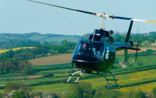 Обучение на вертолете