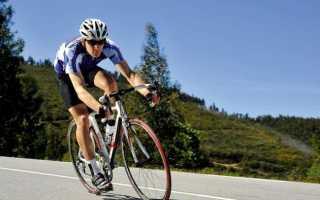 Средняя скорость велосипедиста по городу
