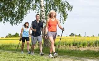 Скандинавская ходьба с палками как правильно ходить