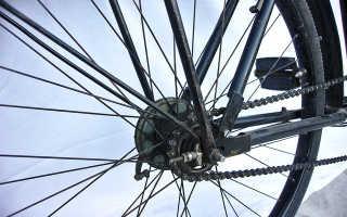 Как сделать цепь на велосипеде