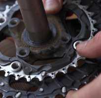 Как разобрать каретку на велосипеде без съемника