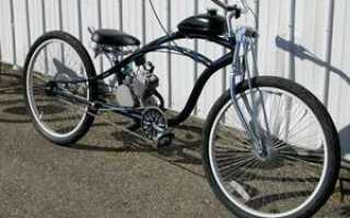 Как на велосипед поставить мотор