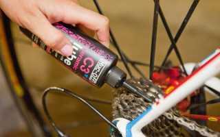 Смазка для велосипедной цепи